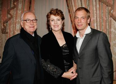 Lynn Redgrave, James Ivory and Julian Sands at the after party premiere of &quot;The White Countess&quot;.